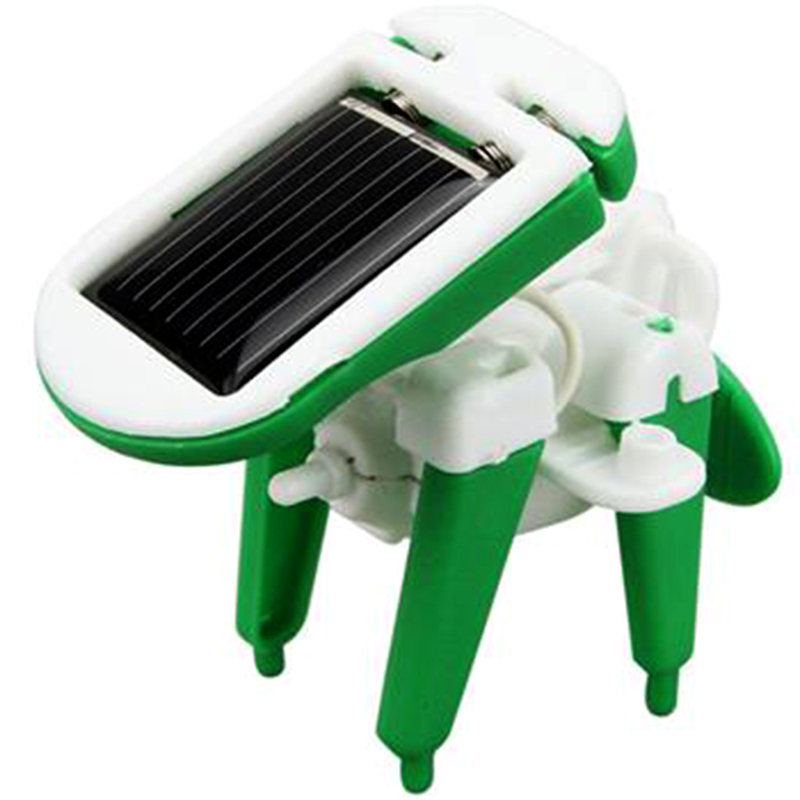 2016 Hot Sale 6 in 1 Creative DIY Education Learning Power Solar Robot Kit Children Toys Gift Free Shipping(China (Mainland))