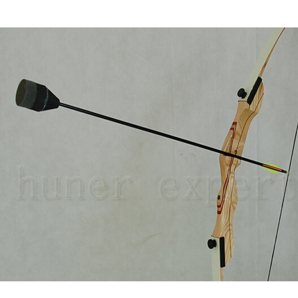 Fiberglass arrow or carbon arrow hunting foam arrow point for recurve bow targeting 1pc
