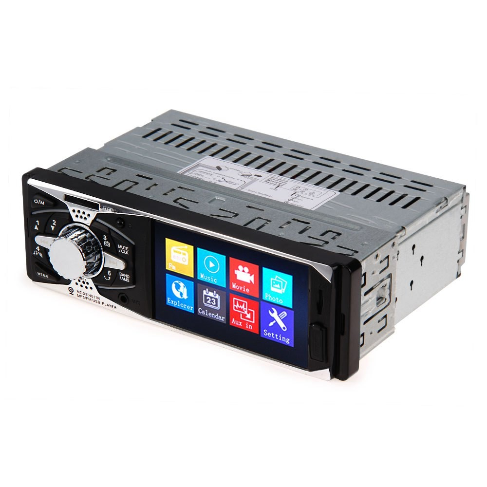 4 inch Car Video DVD Player TFT Screen Rear View Camera Car Audio Stereo 12V Auto Video MP5 AUX FM USB SD MMC Remote Control