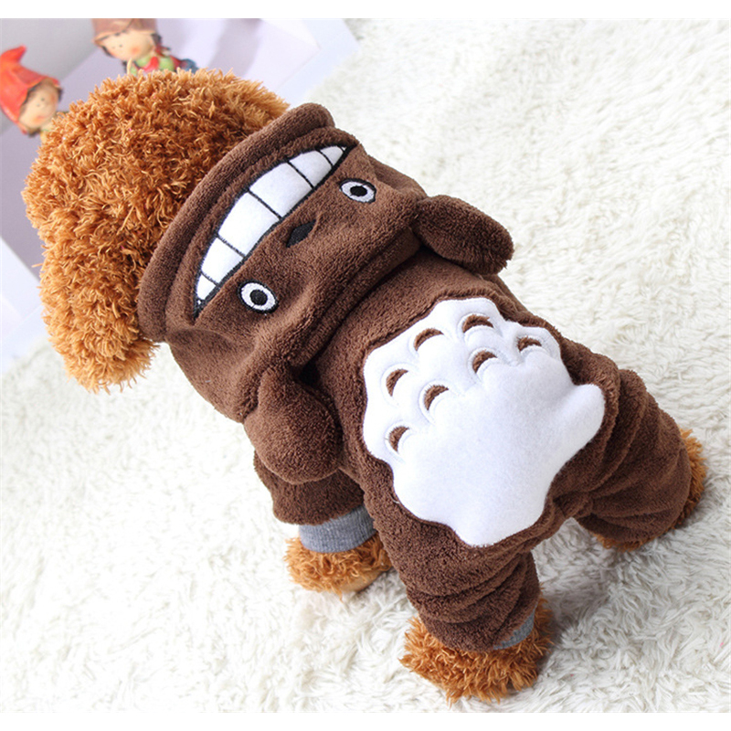 New Hoodie Costume Dog Clothes Pet Jacket Coat Puppy Cat Costumes Apparel Winter(China (Mainland))