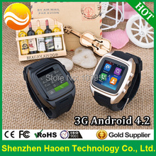 Best Seller 3G Android4.4 Hand Watch with 1.54Inch 240x240p MT6572 Dual core Waterproof Watch phone 3G GPS Outdoor Phone Watch (China (Mainland))