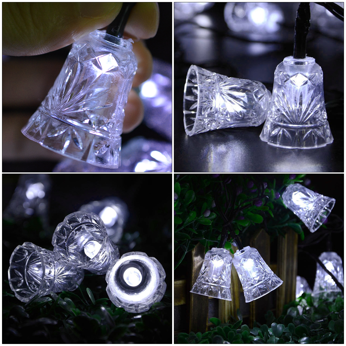 LED String Light Small Bell for Garden