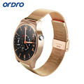 ORDRO B1 Smart Wrist Watch Touch Screen Heart Rate Tracker Steel Strap Wristwatch Support Android IOS