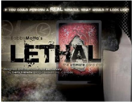 Lethal - Magic Trick,Mnetalism Magic Props,stage/close up,comedy,Accessories,gimmicks,Magic toys