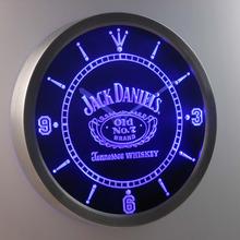 nc0477 Jack Daniel's Neon Sign LED Wall Clock (a048-b design)
