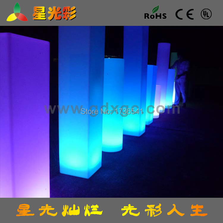 Luminous LED lighting bar lamp lamppost lighting event planning leisure furniture accessories(China (Mainland))