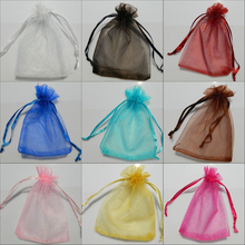 Organza Beads Candy Pouch Bag for Wedding Party