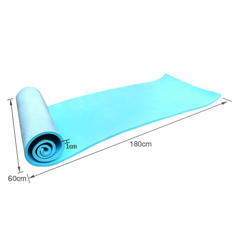 180cm*60cm High Quality Body Building Pad Yoga Mat Broadened 10mm Thickening Fitness Mats free shipping(China (Mainland))