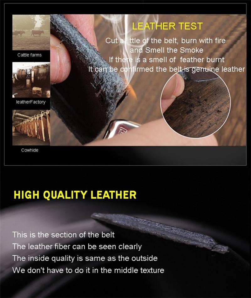 HTB1PM2oQFXXXXX XVXXq6xXFXXXA - 2017 men's fashion100% Genuine Leather belts for men High quality metal automatic buckle Strap male Jeans cowboy free shipping