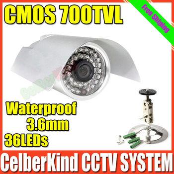 700TVL CMOS security Surveillance Outdoor CCTV cameras,Free Shipping,Drop Shipping
