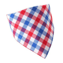 X1 Baby Bandana Drool Bib Nice Plaid Scarf for baby Newborn Bib Boy Girl Soft Cotton collar kids scarves baby saliva towel