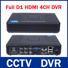New Mini 4CH Full D1 DVR Real time Recording 4 Channel Standalone CCTV DVR HDMI Output P2P Cloud Mobile Phone Viewing