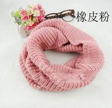 Knitting Scarf Winter Muts Sjaal Autumn and winter scarf set of head more knitting wool collar men women(China (Mainland))