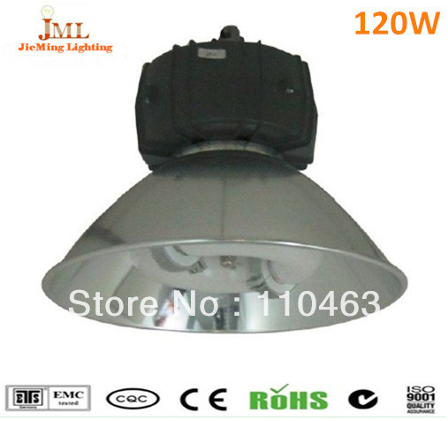 waterproof fluorescent light fixture120w 9600lm high bay lamps 2700-6500K supper brighting 5 years warranty(China (Mainland))