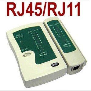 FreeShipping 10pcs/lot LAN Network Cable Tester RJ11 RJ12 RJ45 Cat5