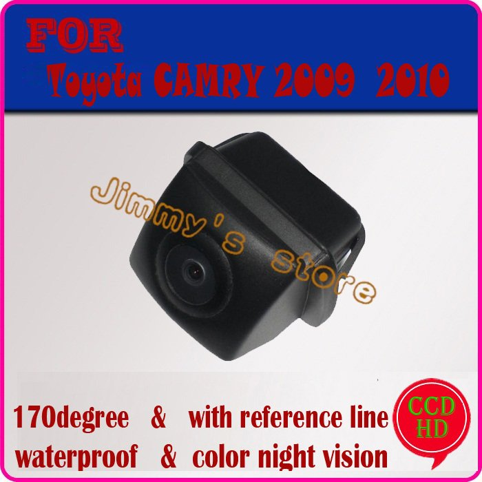 CCD HD night vision car rear view camera parking camera rearview system rear sensor for TOYOTA CAMRY 2009 2010(China (Mainland))