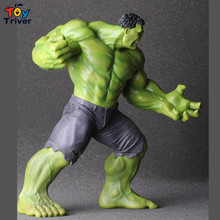 New The Avengers Action Figure Super Hero Hulk Big Size Model Toy Decoration Movie Lover Boyfriend gift free shipping Triver Toy