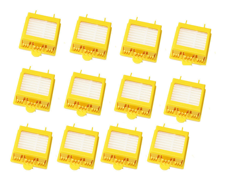 Free Post New New 12 pack Hepa Filter filters kit for iRobot Roomba 700 Series 760 770 780 790(China (Mainland))