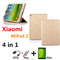 Oracle lines cover For Xiaomi Mipad 2 Leather Case Cover capa para for Xiaomi Mi Pad