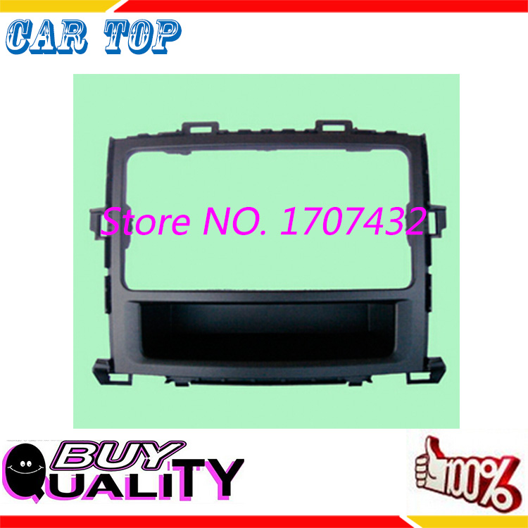 free ship Car refitting DVD frame,DVD panel,Dash Kit,Radio Frame,Audio frame Fascia 2008 Toyota Alphard, 2DIN