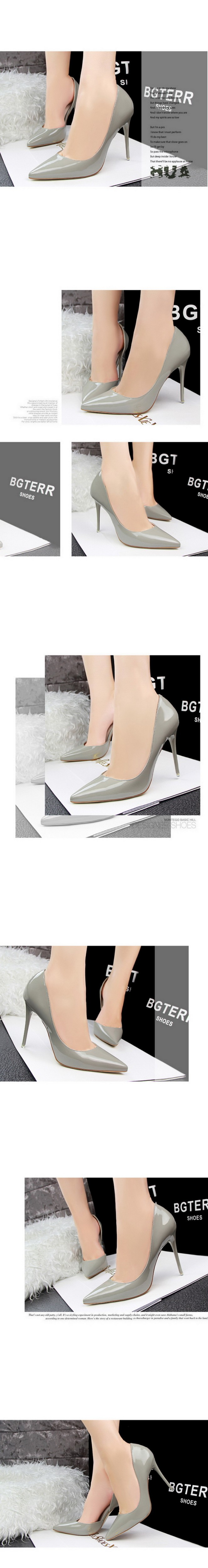 2015 New Sexy Fashion Thin High Heels Women Shoes PU Nightclub 10CM Pointed Toe Purple High-heeled Women Pumps Shoes ZX2.5