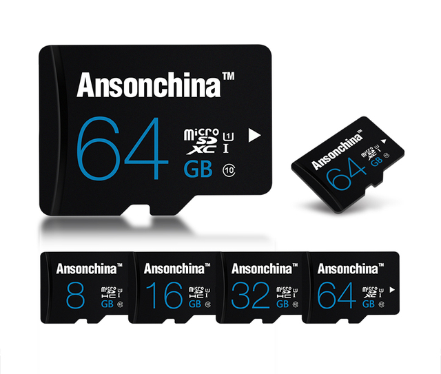 New Arrived 4GB 8GB 16GB 32GB 64GB Class 10 Micro SD card TF card Flash Memory Card Mobile Series SDHC SD card wholesale