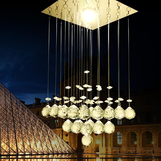 hot new 2015 modern led ceiling light modern crystal home