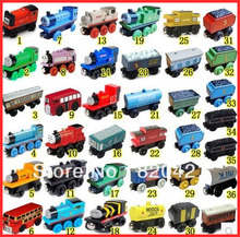 Toy wooden 38 full set thomas small train preschool wooden toys puzzle(China (Mainland))