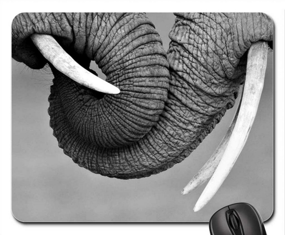 Cool Elephant and Ducks Mouse Pad (Elephants MousePad)(China (Mainland))