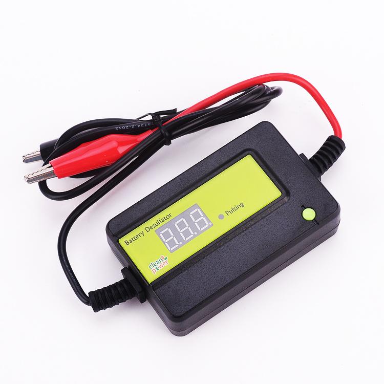 Free Shipping Green Battery Desulfator Lead Acid Battery Regenerator Lead Accumulator Reviver Battery Maintenance(China (Mainland))