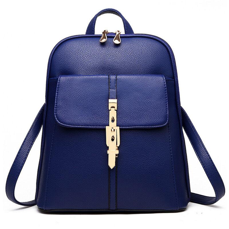 2015 backpacks women backpack school bags students backpack ladies women's travel bags leather package YA80-173(China (Mainland))