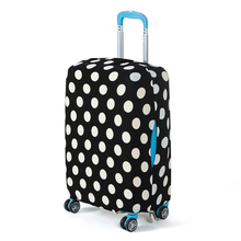 Travel Luggage Suitcase Protective Cover Elastic Suitcase Dust Covers Box Sets Travel Accessories Apply To 18 To 30 Inch Cases(China (Mainland))