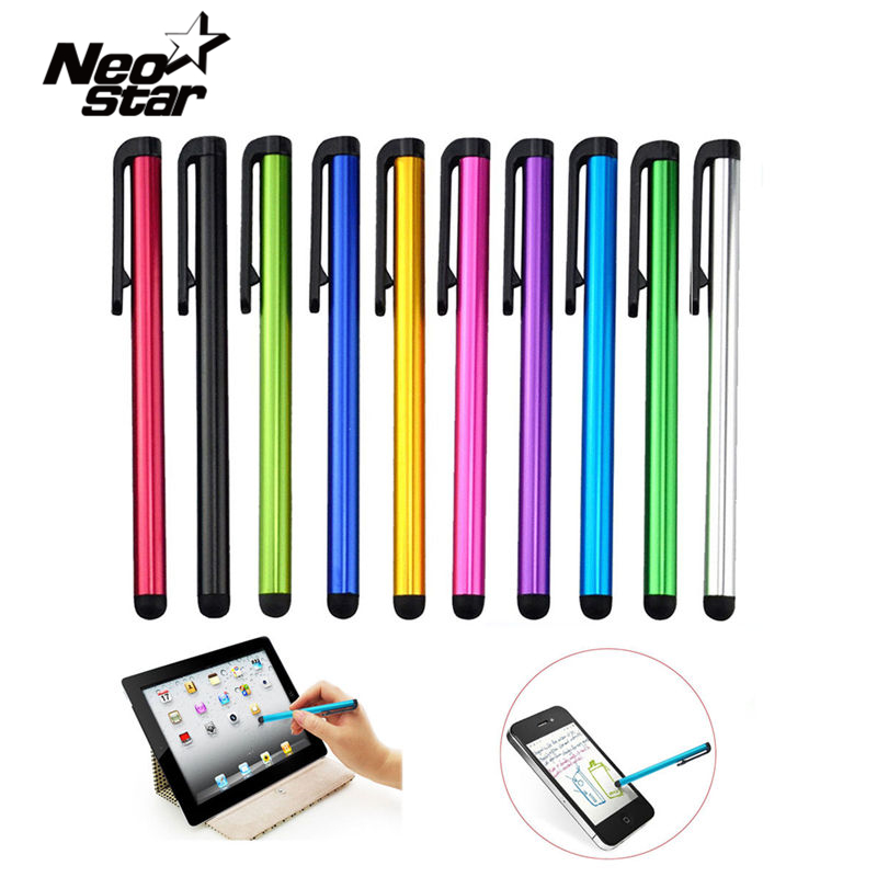 10pcs/lot Capacitive Touch Screen Stylus Pen For IPad Air Mini 2 3 4 For IPhone 4s 5 6 7 Samsung Universal Tablet PC Smart Phone(China (Mainland))