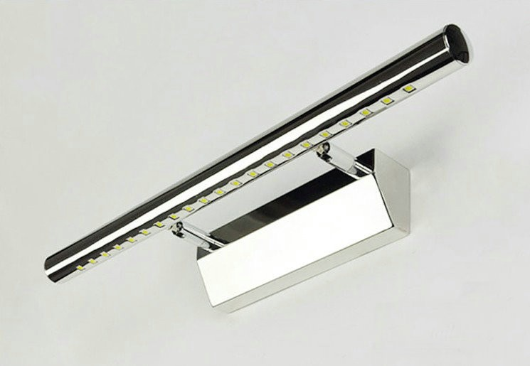 70CM 9W Modern Stainless Steel Energy-Saving High-End LED Wall Light Bathroom Mirror Front Lamp Minimalist Light cc25<br>