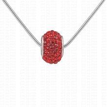 Ожерелья  от Wholesale fashion jewelry 925 silver jewelry online для Дети, Люди, Unisex, Женская, материал Горный хрусталь артикул 468569917