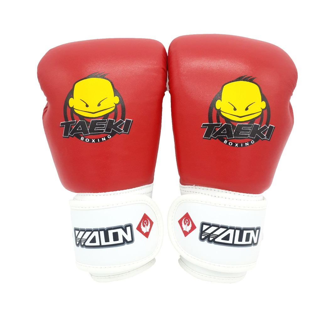 High Quality PU Kid Boxing Gloves Fighting Sports Wearable Breathable For Training Fun Muay Thai Gloves Free Shipping(China (Mainland))