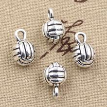 Buy 99Cents 4pcs Charms 3d volleyball 10mm Antique Making pendant fit,Vintage Tibetan Silver,DIY bracelet necklace for $1.01 in AliExpress store