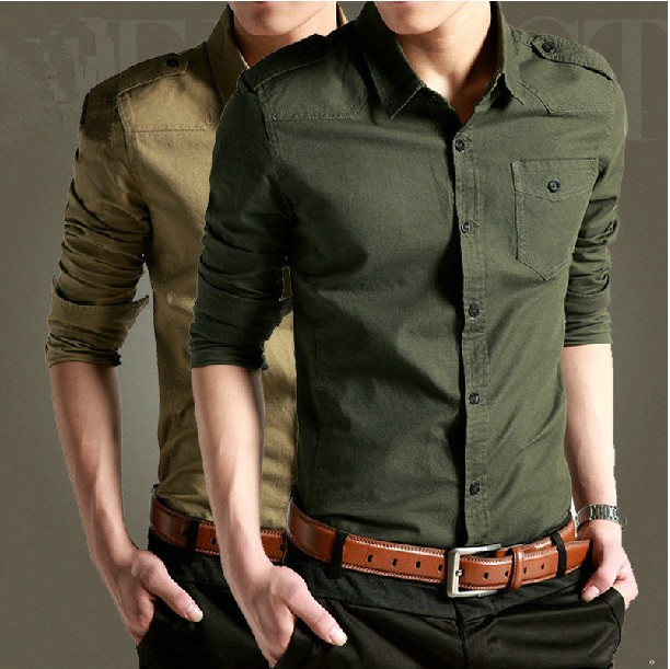 Camisas Camisa Masculina Ct Sales Taobao Explosion Models Of Men's Shirts Cotton Shirt Army Uniform Outdoor Clothing Wholesale(China (Mainland))