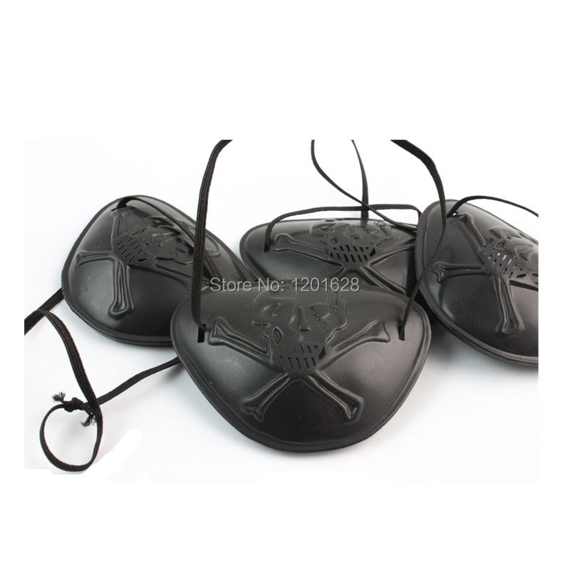 Pirates of the Caribbean Eyepatch Party masquerade halloween Decoration(China (Mainland))
