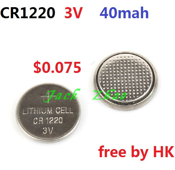 20 CR1220 1220 DL1220 LM1220 ECR1220 3V Lithium Button Coin Cell Batteries - WE Need it! store