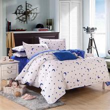 Hot 3Pcs/4pcs Bed Quilt Duvet Cover Pillowcae Flat Sheet Bedding Bedclothes Sets Single/Double/King Size Home Decor(China (Mainland))