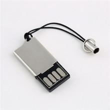 1Pc Micro SD SDHC TF USB 2.0 Card Reader Adapter Metal T90 100% Brand New(China (Mainland))