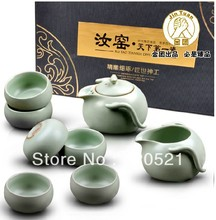 Jituan tea set kung fu tea set Ru kiln tea set TC1421 8pieces/set Free shipping