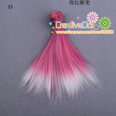 free shipping 15cm wholesales Straight Hair DIY Hair/wigs For BJD for monster high for barbie dolls