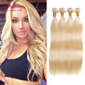Virgin Bulk Hair For Braiding 1#2#8#613# Brazilian Virgin Hair 18 to 24 inches Human Braiding Hair Bulk for Human Hair Crochet