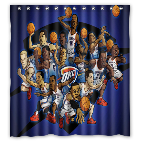 Image Gallery Oklahoma City Thunder Curtains