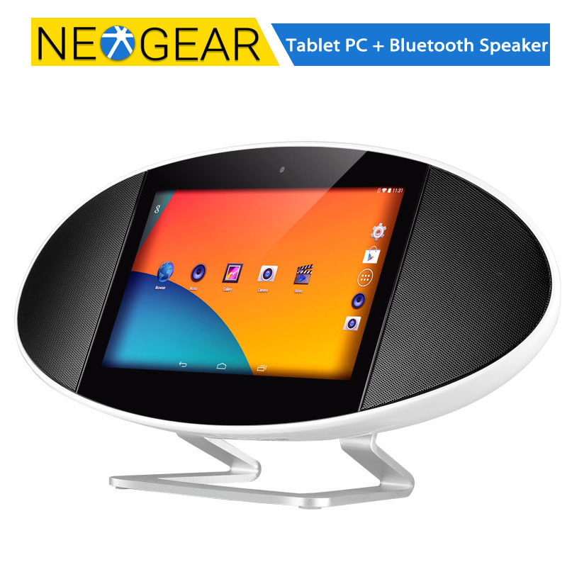 how to connect speakers to tablet