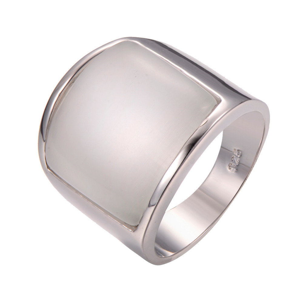 wholesale pearl shell 925 sterling silver ring fashion