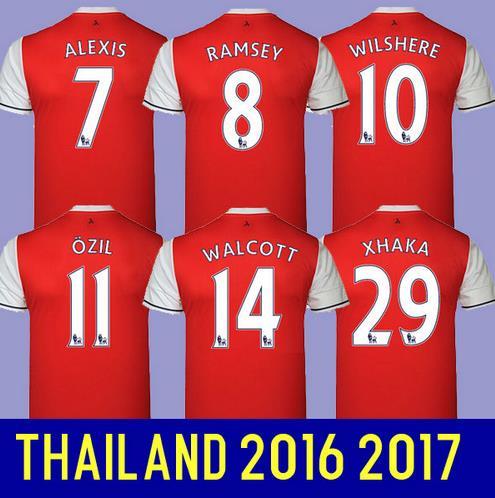 Top thailand quality 2016 2017 shirts camisetas de men soccer shirt 16 17 maillot foot- SIZE S,M,L,XL XXL XXXL 4XL(China (Mainland))