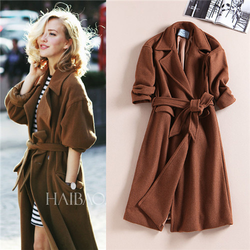 Long Brown Winter Coat | Fashion Women's Coat 2017